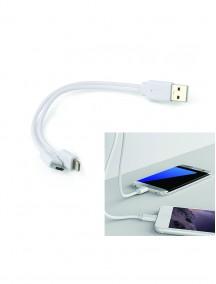 2 li Powerbank Kablosu Android ve iOS Uyumlu NR1954