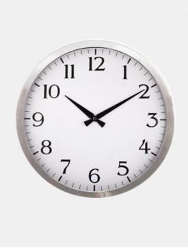 Krom Çerçeveli Duvar Saati 3254-B