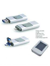 16 GB Metal USB Bellek NR1601