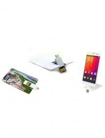 OTG Özellikli Kartvizit USB Bellek NR1609
