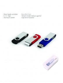 Döner Kapaklı USB Bellek NR1611