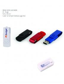 Metal Renkli USB Bellek NR1613
