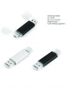 Metal USB Bellek NR1614