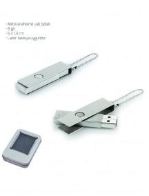 Metal Anahtarlık USB Bellek NR1616